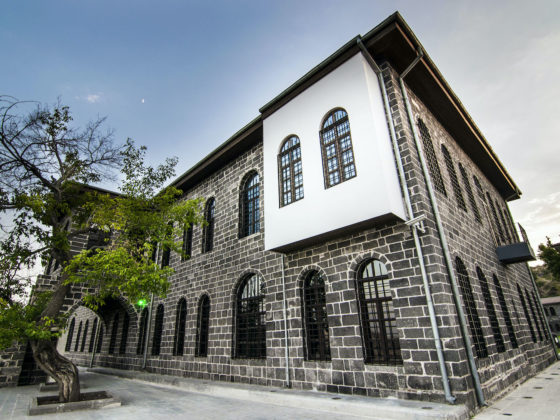 An example of civil architecture of historic Diyarbakır